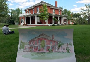 Colonel Walker House at the Inglewood Bird Sanctuary