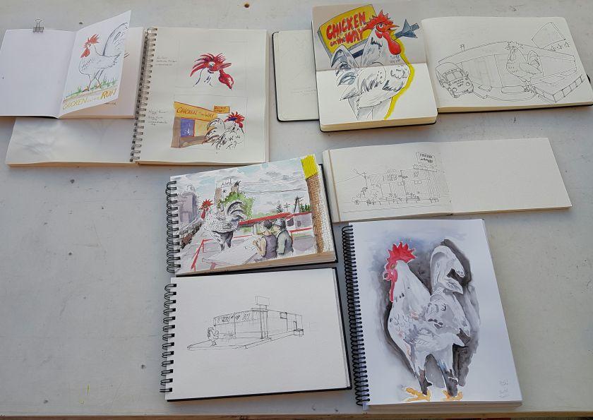 CotW sketches