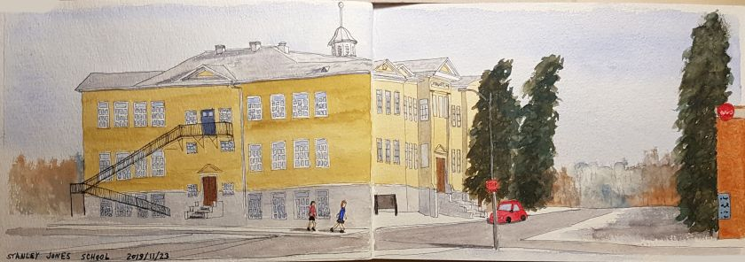 Stanley Jones school sketch